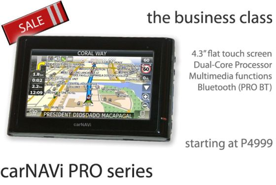 Click here to buy carNAVi PRO BT now