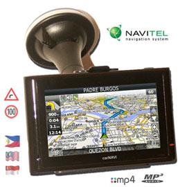 carNAVi PRO 400 GPS navigation system