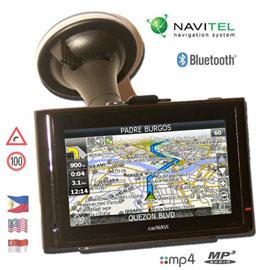 carNAVi PRO BT GPS navigation system