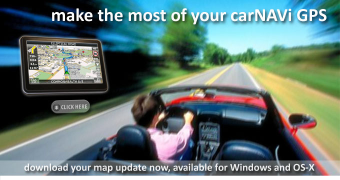 carNAVi GPS, more powerful than ever