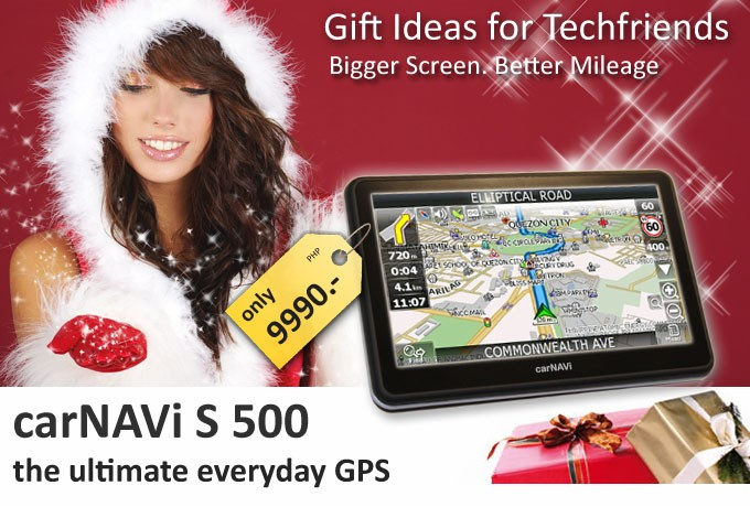 Newsletter Header - carNAVi 2012 Christmas Special
