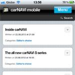 Inside carNAVi